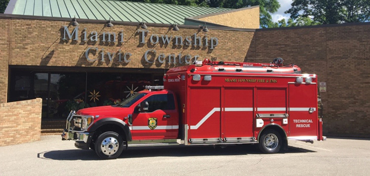 Miami Township (OH) Fire and EMS turned to Maintainer Custom Bodies when it sought to revamp its rescue programs and create a new vehicle that would support them.