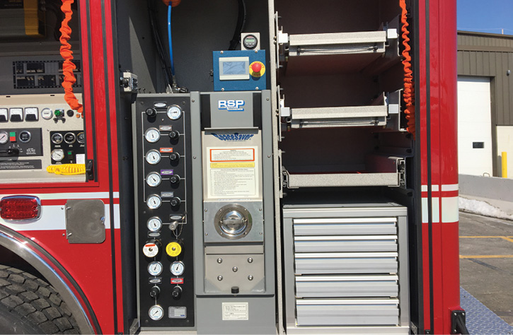 The Chula Vista USAR truck has an RGC industrial hydraulic power supply in the L5 compartment.