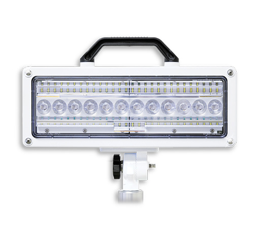 afe Fleet's FRC makes the SPECTRA-MAX LED lamp head with two rows of LEDs that have a 28,000-lumen light output.