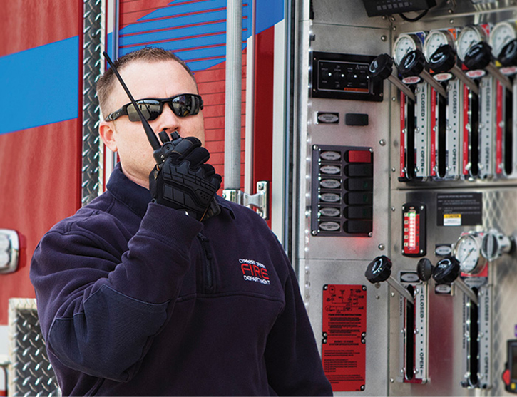 The NX-5000 series radios comply with IP67/68 immersion standards and offer a maximum of two-hour protection at a depth of one meter.