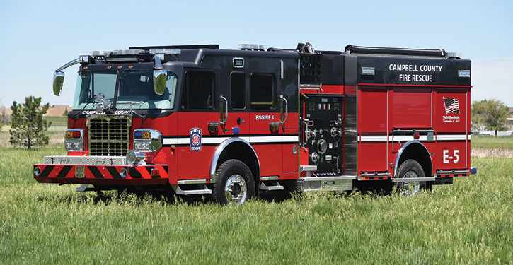 Campbell County's rescue-pumper.