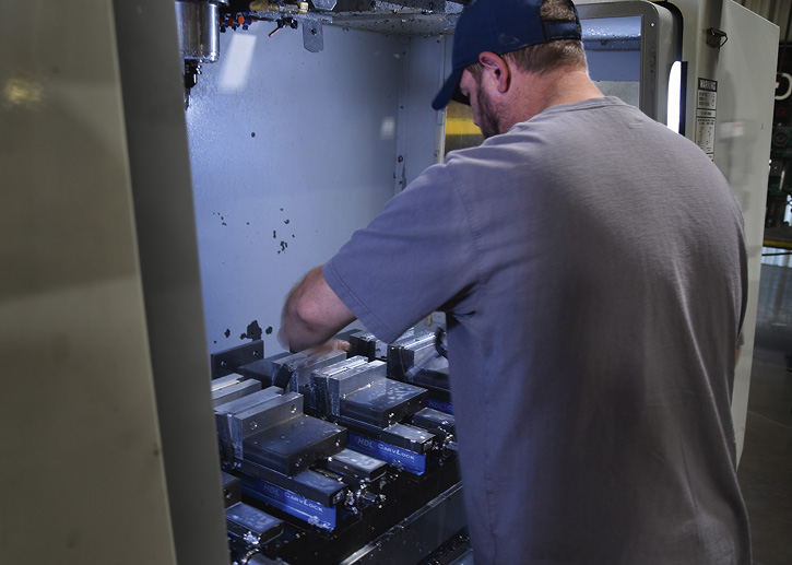 Since its inception, OnScene Solutions has incorporated machine-shop techniques, including use of computer numerical control (CNC) machines to build high-quality products