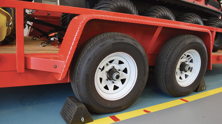 What condition are your trailer tires in? Everyone tends to forget about the trailers and specialized vehicles that are rarely used or that are parked outside. Make sure to include these tires in your regular checks. Usually, when these trailers are needed, it's a significant emergency, and the trailer better be ready to get to the scene safely.