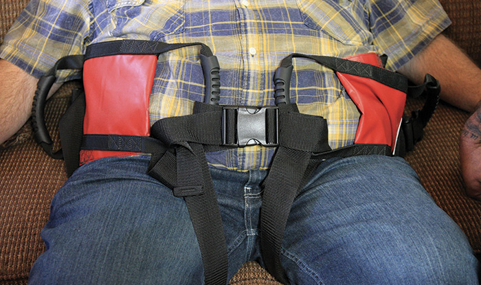 Levigait LLC makes the People Mover Patient Lifting System.