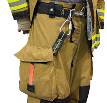 RIT Safety Solutions makes a personal escape that includes a DuPont Kevlar escape belt, an autolocking descending device, and a number of options for anchor hooks.