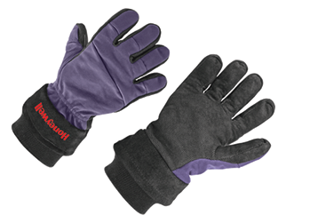 The Super Glove™ structural firefighting glove made by Honeywell First Responder Products uses kangaroo leather on the back and digiroo leather on the palm and fingers.