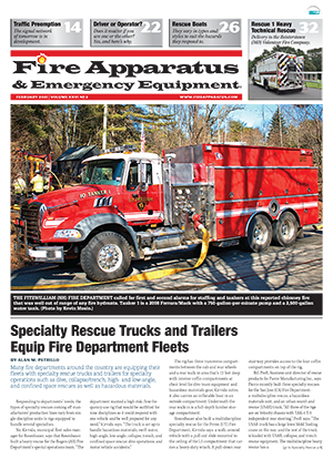 Fire Apparatus & Emergency Equipment cover Volume 26 Issue 2