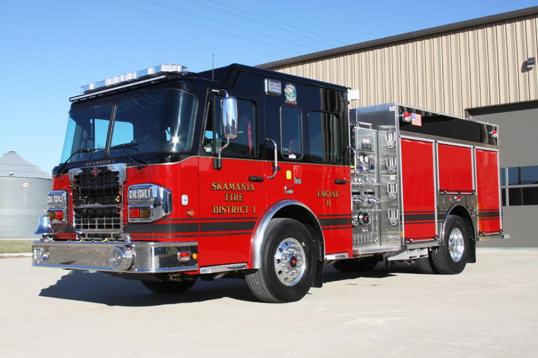 Skamania (WA) Fire District 1 Toyne Engine