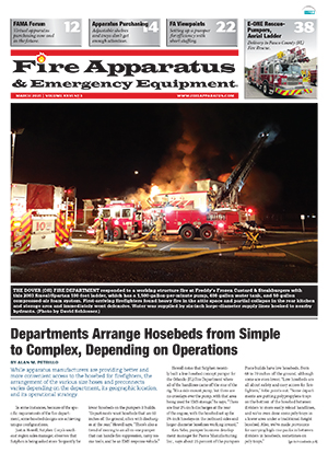 March 2021 cover of Fire Apparatus & Emergency Equipment