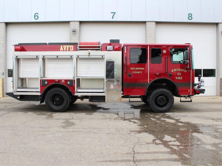 Abiquiu (NM) Volunteer Fire Department Gets HME Ahrens-Fox Wildland Urban Interface Pumper