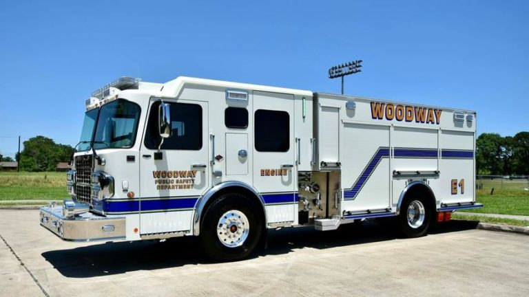 Woodway (TX) Public Safety Department Donates 1995 E-One Truck to McLennan Community College